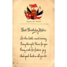 British Flags Poem Birthday