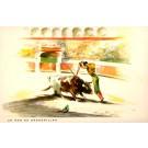 Toreador Wounded Bull Bullfighting