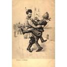 Dancing Russian Tsar Nicholas I Accordion Player