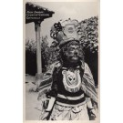 Guatemala Chichicastenango Mask Dancer Real Photo