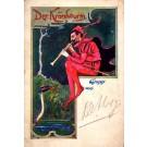Devil Playing Oboe Snake Gruss Aus Pioneer