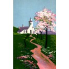 Blooming Tree Church in Spring