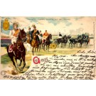 Empress Augusta Victoria on Horse Gruss Aus