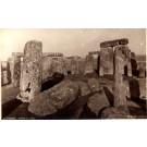 UK Stonehenge Interior of Circle Real Photo