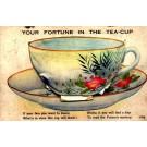Tea Cup Fortune inside