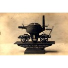 Newton's Proposed Locomotive 1680 Real Photo