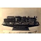 Pacific Type Locomotive Real Photo