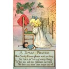 Praying Child to Santa Claus Toy Doll Poem