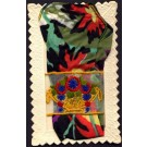 Embroidered Silk Flowers Real Tie