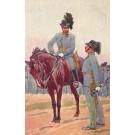 Officer on HorseGiving Order