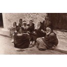 Algeria Sitting Jews Real Photo