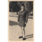 Israel Army Jewish Girl Soldier Real Photo