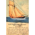 Sailboat Hand-Drawn Pioneer