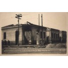 Brazil St. Paulo Damaged Houses Revolution 1924 RP