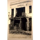 Brazil St. Paulo Revolution 1924 Ruined Bldg RP