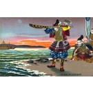 Worship to War God on Shore Ships