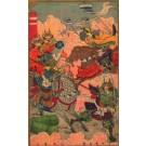 Fighting Samurai on Horses