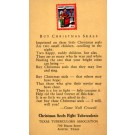 Advert Christmas Seals TX Tuberculosis Association