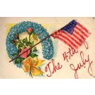 4th of July Flag Flower Roses Patriotic