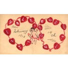 Cupid Hearts Hand-Drawn