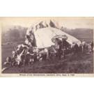 Wrecked Shenandoah Caldwell Ohio 1925