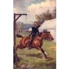 Cavalry on Horse Cutting Lemon Tuck