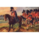 Scottish Military Returning from Review Tuck