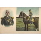 Mexican General Diaz on Horse