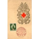 Red Cross Woodblock