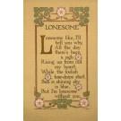 Volland #642 Lonesome Poem