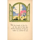 Volland #2646 Flower Lily in Window Poem