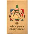 Volland #2524 Children in Egg Shells Easter
