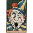 Clown with Hole for Finger Novelty