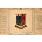 Printed Silk Coat of Arms Canada Fab
