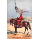 Tibet Lama on Horse with StandarD Tuck