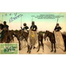 Africa Black Touareg Army on Horses