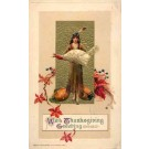 Schmucker Indian Girl with Turkey Winsch