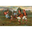 Soccer Goalie Got Ball