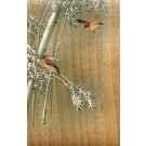 Birds on Tree Japanese Wooden