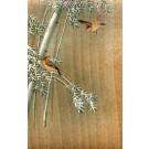 Birds on Tree Japanese Wooden