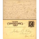 Letter to Dentist 1877 Pioneer