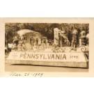 Florida Float of Pennsylvania Real Photo