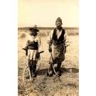 Thailand (Siam) Peasants Real Photo