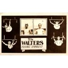 Walters Couple Flexible Gymnasts Real Photo