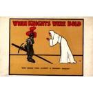 Advert Play Shy Knight Meeting Priest