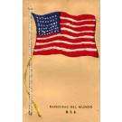 Embroidered Silk Flag Patriotic