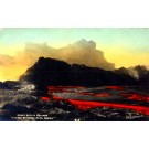 Hawaii Park Active Volcano Real Photo