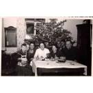 Family with Teddy Bear Christmas RP