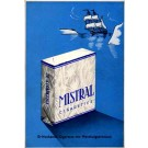 Advert Cigarettes Mistral
