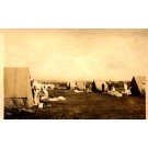 Hawaii Oahu Navy Pitching Tents Real Photo
